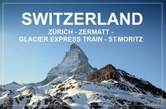 So, we had 4 days time and decided we wanted to spend them in Switzerland, mostly because we have direct flights from Hanover (which is the closest airport to our home) to Zurich. Switzerland Travel Guide, Switzerland Itinerary, Direct Flights, Zermatt, Tourist Spots, Day And Time, Zurich, Alps, Where To Go