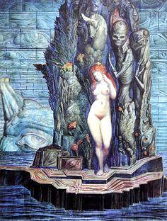 """Aphrodite"" Ernst Fuchs"