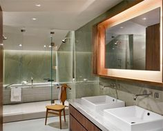 Stately Contemporary Bathroom by David Howell on HomePortfolio