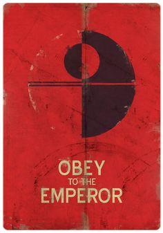 Star Wars Empire Propaganda Poster