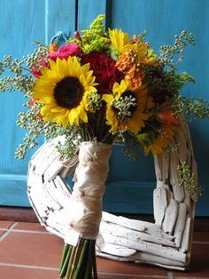 wildflower bouquet md in september | my wedding 6/22/13 / Gorgeous September wildflower bouquet