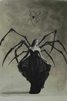 spider queen I think this will be my costume this year. halloween photography scary Some really amazing images Halloween Fun, Halloween Costumes, Vintage Halloween Photos, Gothic Halloween, Halloween Spider, Halloween Pictures, Everyday Goth, Spider Queen, Spider Costume