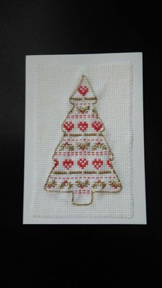 Cross stitch Christmas tree Christmas card Hey, I found this really awesome Etsy listing at https://www.etsy.com/uk/listing/255462584/cross-stitch-christmas-tree-christmas