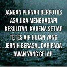 Jangan pernah putus asa