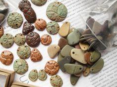 glazed ceramic beads