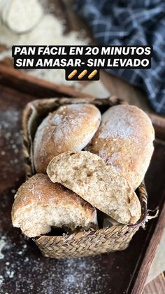 Sweet Recipes, Real Food Recipes, Cooking Recipes, Healthy Recipes, No Yeast Bread, Good Food, Yummy Food, Flour Recipes, Artisan Bread