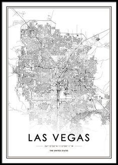 Las Vegas Poster in der Gruppe Poster / Größen und Formate / 50x70cm bei Desenio AB (8725)