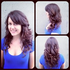 Hair By Aaron Brousseau @Rain Salon and Boutique The Amazingly Beautiful Leaha ♥ fresh cut and color
