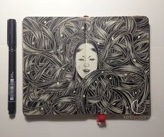 KERBY ROSANES Filipino Freelance Illustrator   Sketchbook Lover   Works with pen and ink  ...