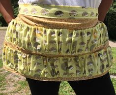 A personal favorite from my Etsy shop https://www.etsy.com/listing/244306354/gathering-egggarden-veggies-apron
