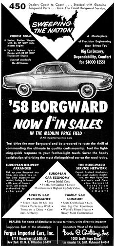 1958 Borgward