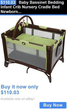 Baby Nursery: Baby Bassinet Bedding Infant Crib Nursery Cradle Bed Newborn Foldable Sleeper BUY IT NOW ONLY: $110.03