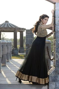 Mehryn Zafar Beatiqueen Bridal Wear Lengha Kurti 2014 For Women (5)