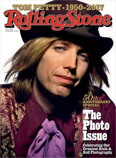 Tom Petty on our November 2, 2017 cover.