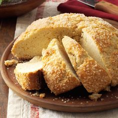 Sweet Italian Holiday Bread Recipe -This is authentic ciambellotto, a sweet loaf my great-grandmother used to bake in Italy. I still use her traditional recipe—the only update I made was for modern appliances. —Denise Perrin, Vancouver, Washington