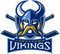Jamestown Vikings Primary Logo (2008) -