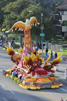 tournament of roses parade 2015 images | FLOATS ANNOUNCED FOR 2015 ROSE PARADE