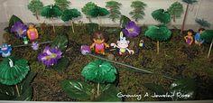 Dora the Explorer small world.  Great imaginative play!
