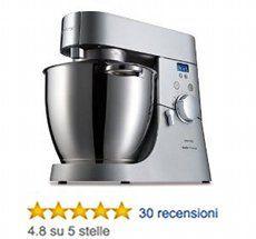 Kenwood Major Titanium Kitchen Machine -  un'unica soluzione per tutte le esigenze!