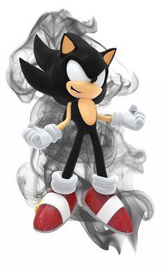 Sonic the Hedgehog - super dark sonic