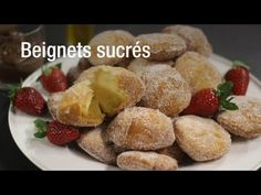 Beignets au fromage blanc - Recette beignets traditionnels - YouTube