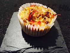 Low Carb Gemüse-Thunfisch-Muffins, ein gutes Rezept aus der Kategorie Snacks und kleine Gerichte. Bewertungen: 58. Durchschnitt: Ø 4,2.