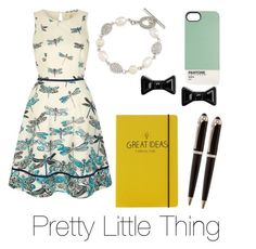 """""""Pretty Little Thing"""" by sopranochg ❤ liked on Polyvore featuring Uttam Boutique, Carolee, Marc by Marc Jacobs and Happy Jackson"""