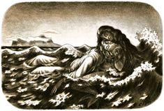 Little mermaid by Cyril Bouda Czech Republic, The Little Mermaid, Illustration, Painting, Art, Art Background, Painting Art, Kunst, Paintings