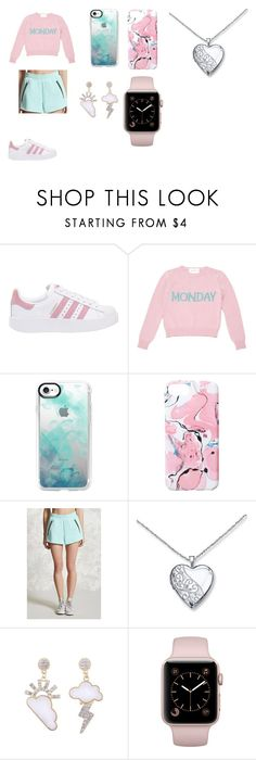 """licht"" by sjaitje on Polyvore featuring mode, adidas Originals, Alberta Ferretti, Casetify, Ankit en Forever 21"