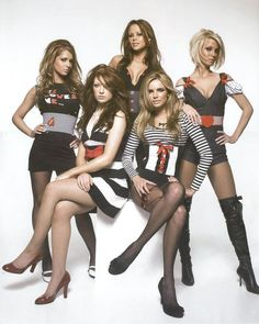 My two tarty ATC loud girls on a night out with G. Mind you, I should have realised it would have been a better pun if I'd used a picture of the Beach Boys, but this picture was rather nicer :-) Rachel Stevens, Nicola Roberts, Cheryl Cole, Spice Girls, Diana, Girls Aloud, Pop Rock, In Pantyhose, Pantyhose Fashion