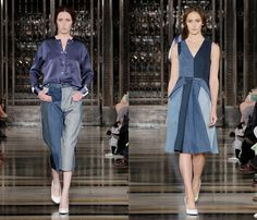 Denim and Jeanswear on the Spring Summer Womens Runways Batch VIII: Trend Watch: Hot Denim Styles, Upcoming Trends, Spotted at the Clothing ...