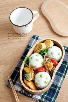 豆ごはんおにぎりのお弁当|あ~るママオフィシャルブログ「毎日がお弁当日和♪」Powered by Ameba