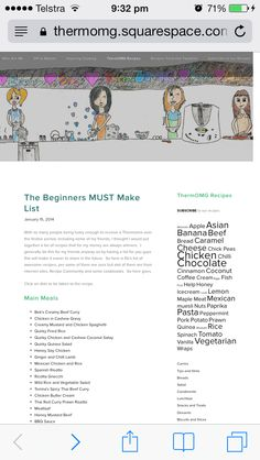 The beginners must make thermo list https://thermomg.squarespace.com/thermomg-recipes/2014/1/15/the-beginners-must-make-list