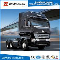 High quality Sinotruk Howo 371HP 6*4 two truck for sale