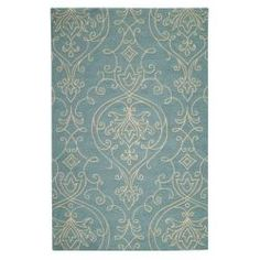 Home Decorators Collection Kenilworth Blue 8 ft. x 10 ft. Area Rug (Home Depot)
