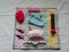 Fidget Quilt . . . when you need child to do something quietly by themselves.