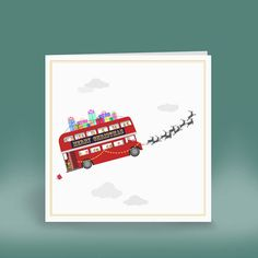London collection christmas card by eleanor stuart | notonthehighstreet.com
