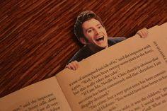 David Tennant Bookmark  I just died laughing...hahaha