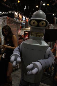 Bender from Futurama.