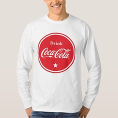 Upgrade your style with Coca Cola t-shirts from Zazzle! Browse through different shirt styles and colors. Search for your new favorite t-shirt today! Coca Cola Gifts, Coca Cola Shop, Coca Cola Kitchen, Coke, Pepsi, One Star, Graphic Sweatshirt, T Shirt, Shirt Style