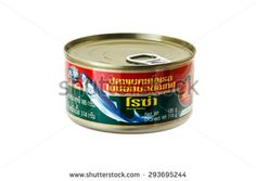 BANGKOK, THAILAND - JULY 03: Roza mackerel in tomato sauce on July 03, 2015. It was distributed by Hi-Q Food Products Co., Ltd. Bangkok, Thailand.