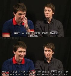 The Phelps twins are not only awesome because they were in Harry Potter but also their since of humor