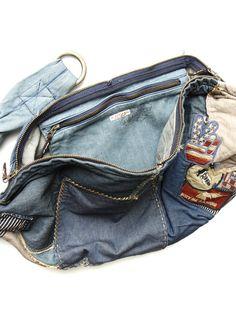 修补的艺术---19世纪末嬉皮土KAPITAL破布包 - 中国牛仔裤学院 - 中国牛仔裤学院