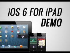 iOS 6 For iPad DEMO