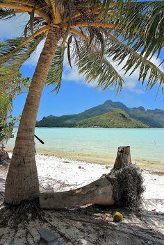 Maupiti Island ~ French Polynesia ~  photo  by Sandra Melcer via Flickr