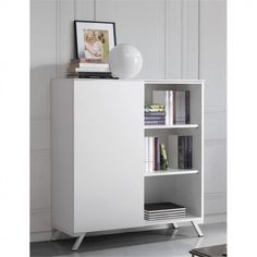 The Box home office (white) bookshelf from Oliver B. Casa - http://iconafurniture.co.uk/cupboards-and-filing-cabinets/967-box-home-office-white-cabinet-bookshelf.html#.U9DoMKNwaM8