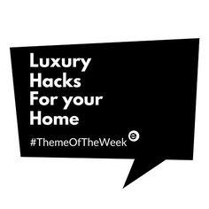 Tada!!!! Fake it till you make it? No!!! We say #hackit till it looks good!!! #themeoftheweek #MoodBoardMonday #luxuryhacks #luxehack