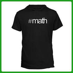 Idakoos - Hashtag Math - Hobbies - Hooded T-Shirt - Math science and geek shirts (*Amazon Partner-Link)