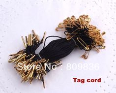 Garment accessories, safety pins tag cord, suspender for clothes hangtag cord(ss-27)