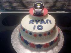 Ryan's Nascar cake